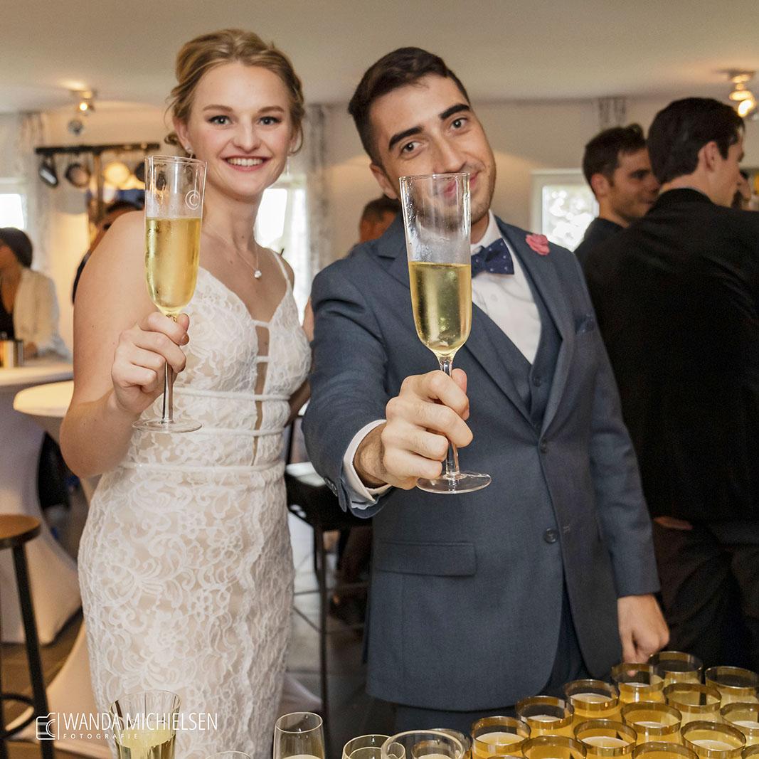 Wedding Bruiloft Proost